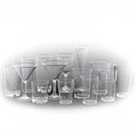 Üvegszerű kempinges poharak